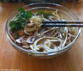 Vietnamese Pho (Vegan and Gluten Free NoodleSoup)