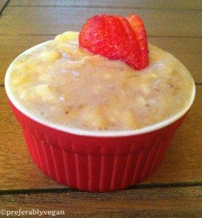 Raw Banana CreamPudding