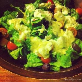 Raw Vegan CaesarSalad