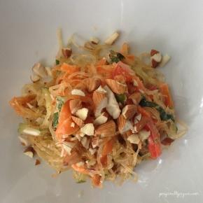 Raw Vegan Kelp Noodle PadThai